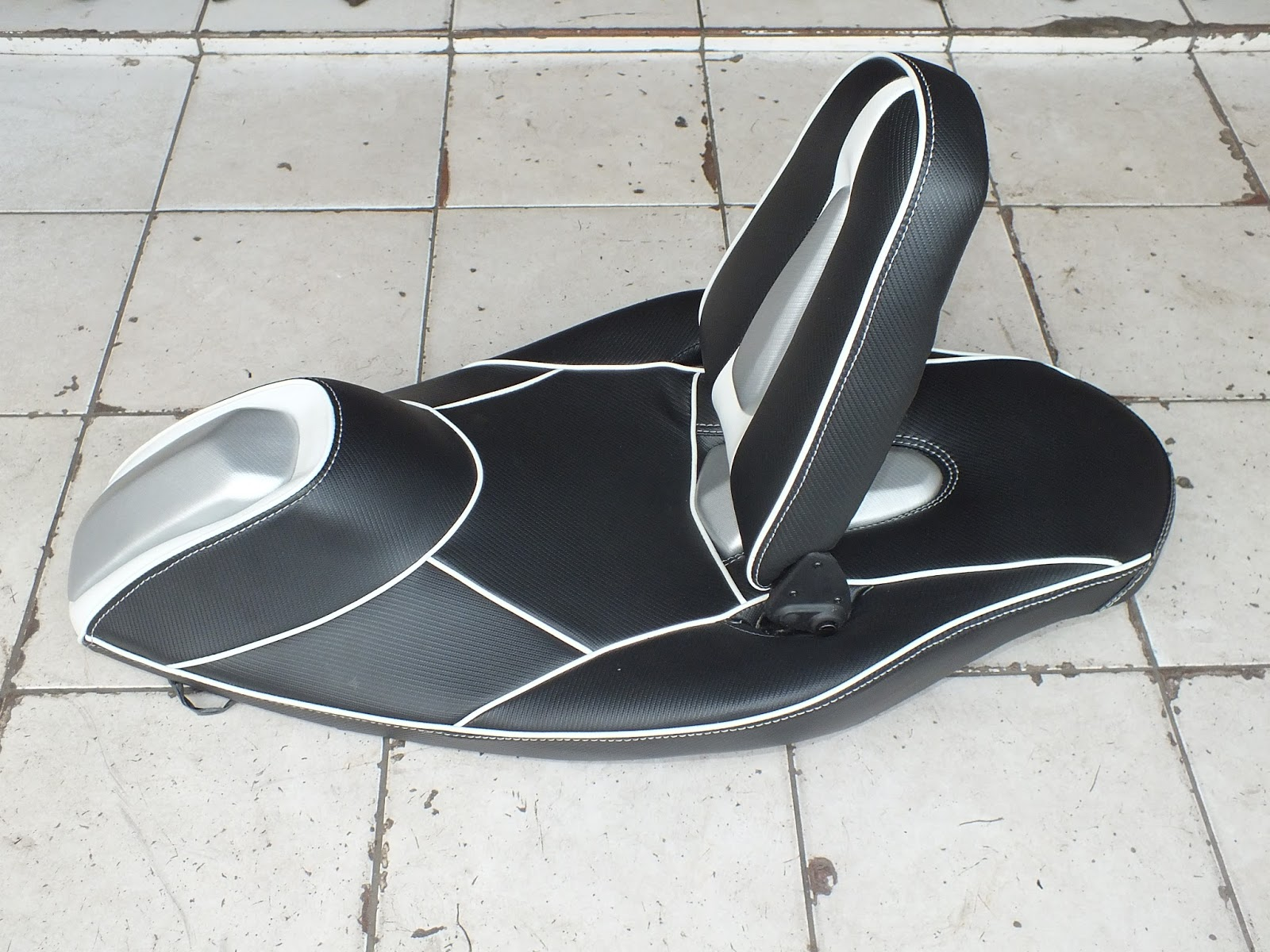 modifikasi jok motor jok yamaha nmax model sandaran lipat