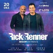 Show da dupla sertaneja Rick e Renner será realizado em Pedreiras no dia 20 de dezembro