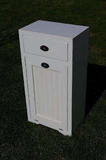 Reclaimed Rustics Tilt Out Trash Cabinet