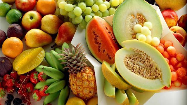 wallpaper kumpulan buah segar gratis