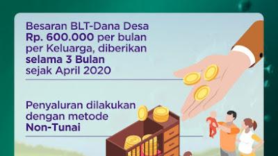 Menteri Desa : BLT Dana Desa Berupa Uang Bukan Sembako
