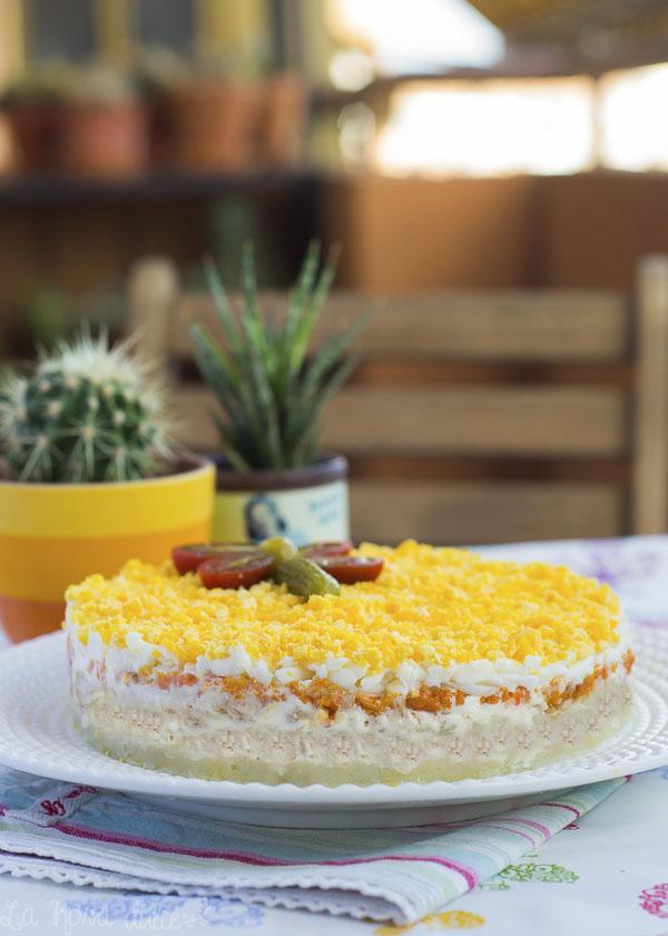 Ensalada mimosa #singluten #sinlactosa
