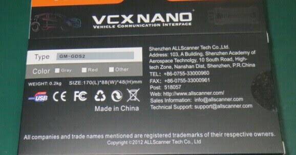 Free download VXDIAG VCX NANO for GM/Opel GDS2 software