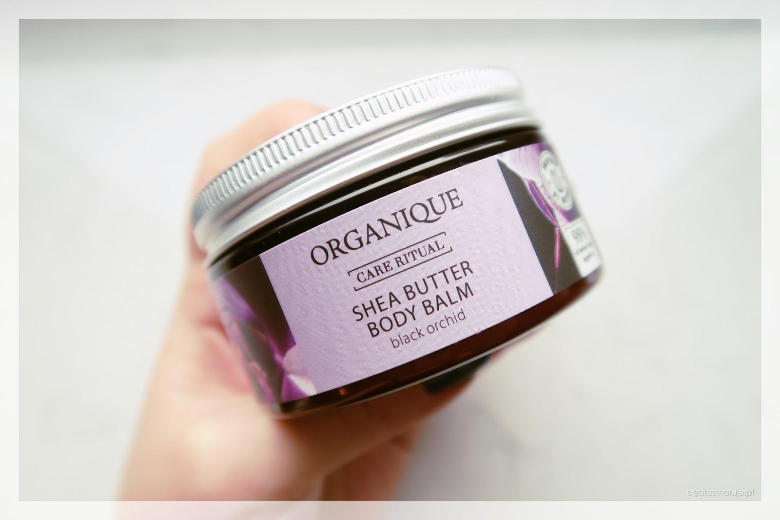 Organique Balsam z masłem shea Black Orchid