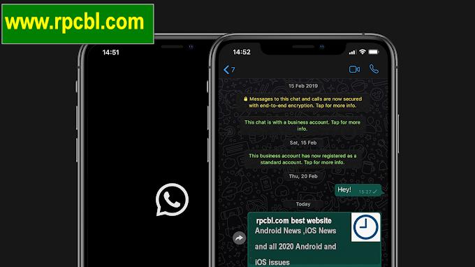 Whatsapp in Dark Mode 2020 | New Whatsapp Feature