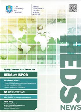 Cover of HEDS Spring/Summer Newsletter