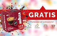 Logo Vinci gratis 8 confezioni di Lavazza a Modo Mio Intenso