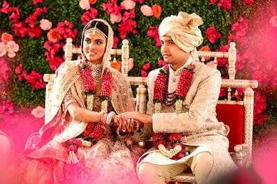 Anushka Rajan Abhishek Doshi Wedding