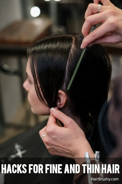 Hacks For Fine And Thin Hair