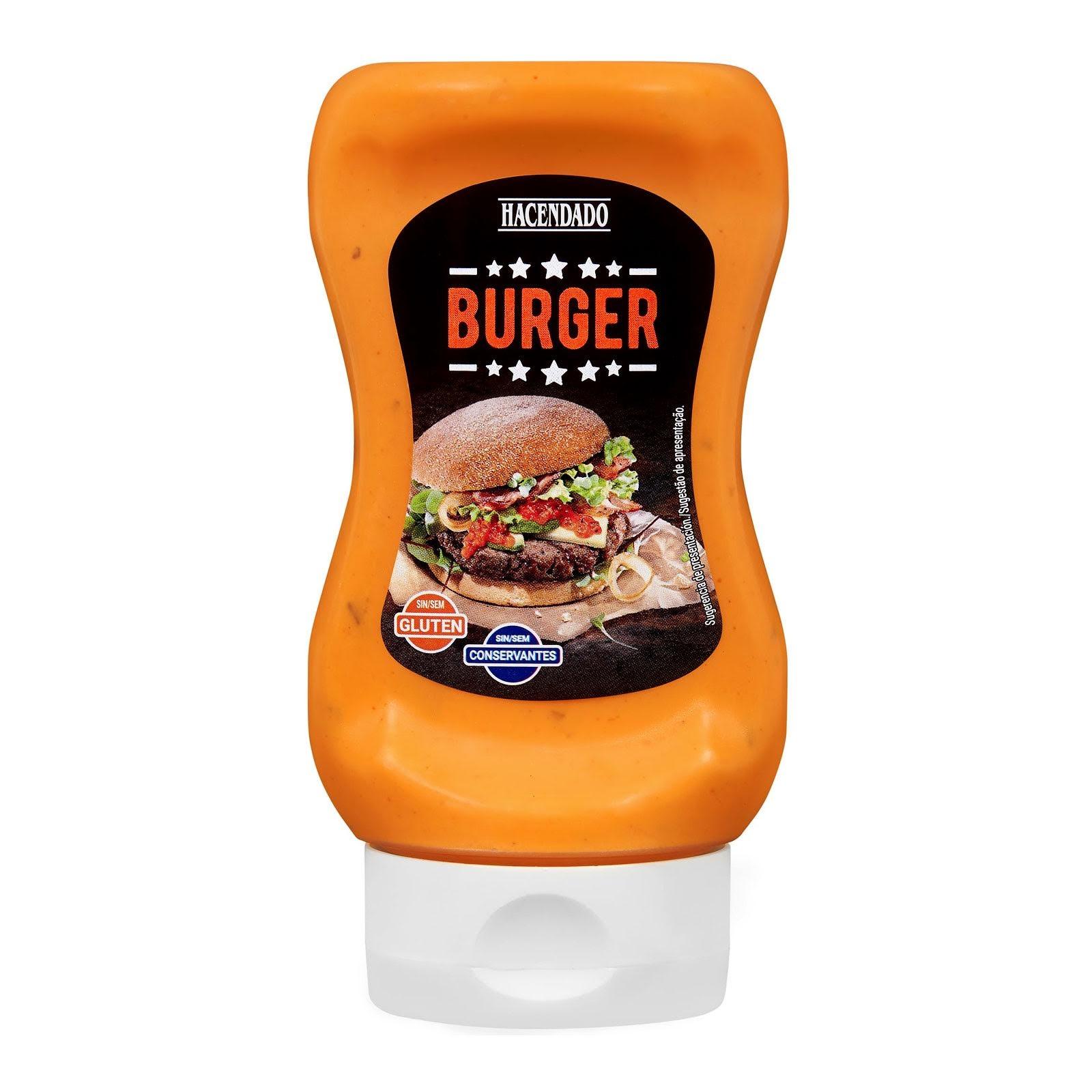 Salsa burger Hacendado
