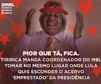 Tiririca apoiador do PT e contra impeachment de Dilma