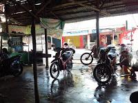 Usaha Cuci Motor Yang Jarang Sepi Di Kota Baturaja