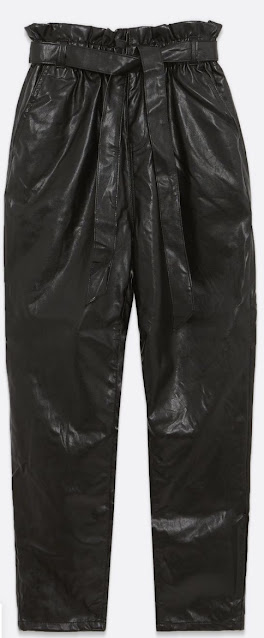 How I Wear My Faux Leather Trousers!