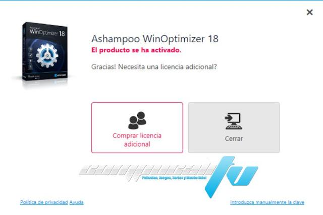 Ashampoo WinOptimizer 2020 18.00.10 Final Español Optimiza tu Windows
