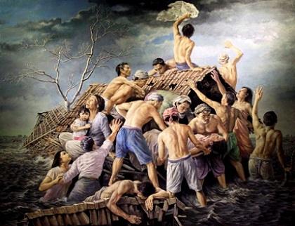 14 Jenis Aliran Seni Rupa Nusantara dan Macanegara Beserta Contoh Karyanya