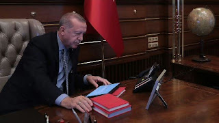 """أردوغان يطّلع على خسائر """"وان"""" التركية عقب زلزال إيران"""