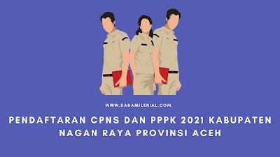 Pendaftaran CPNS Dan PPPK 2021 Nagan Raya Provinsi Aceh Lulusan SMA D3 S1