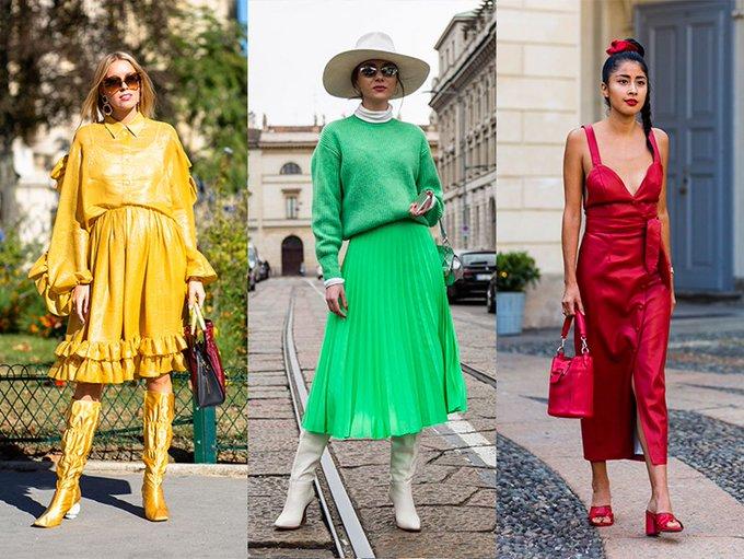 3 Trending Colours In Women's Fashion