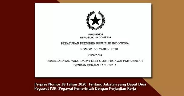 24+ Perpres pppk asn 2020 pdf formasi cpns