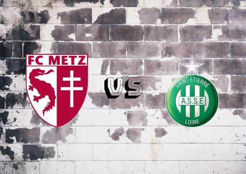 Metz vs Saint-Étienne  Resumen