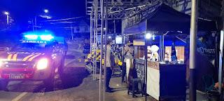 Personel Polsek Anggeraja Polres Enrekang Melaksanakan Patroli Dan Sampaikan Himbauan Ke Masyarakat