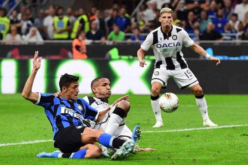 Alexis debutó en Milán