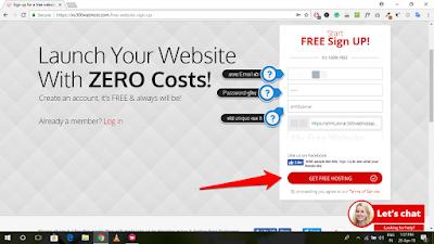 Free Web Hosting (000WebHost) पर WordPress Blog कैसे बनायें (2)