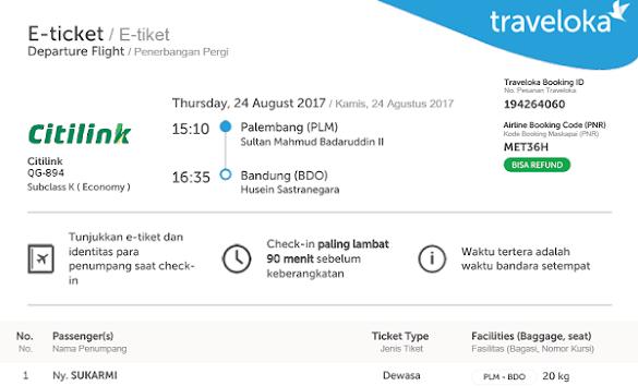 Cara Pesan Tiket di traveloka Tanpa Alikasi Dari HP