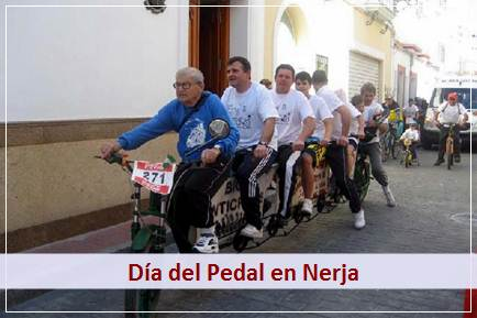 Podrá disfrutar o participar en el Día del Pedal en Nerja