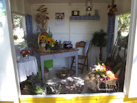 Memories of a 1940s kitchen, Festival of FLowers - Christchurch Botanic Gardens, New Zealand