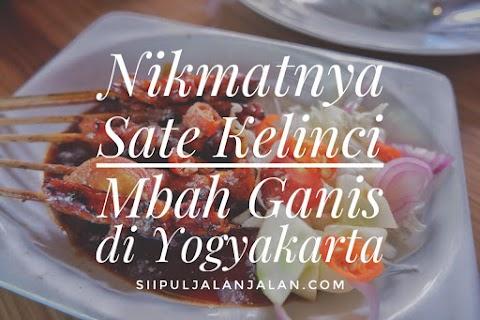 Nikmatnya Sate Kelinci Mbah Ganis di Yogyakarta