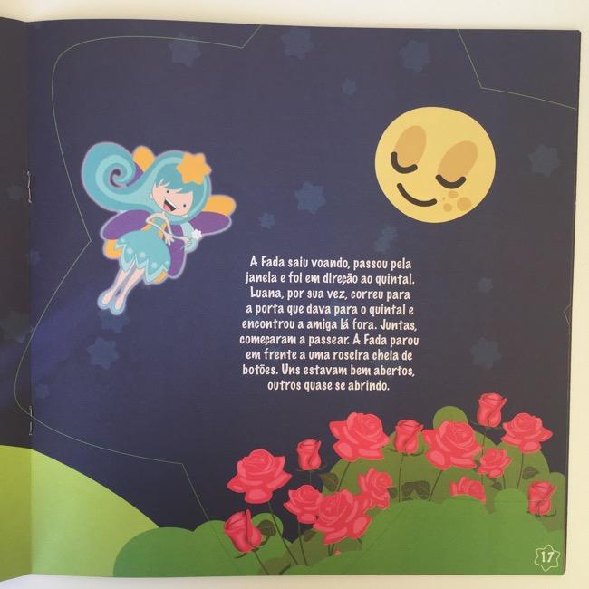 Livro Luana, a Amiga das Estrelas de Cleber Galhardi