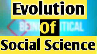 Full Explanation of The Evolution ofSocial Science