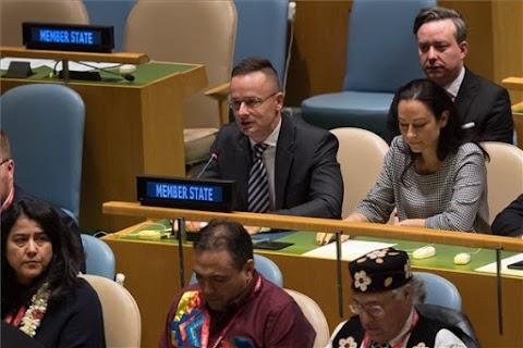 Magyarország támogatja az ENSZ törekvését a nemzeti kisebbségek nyelvi jogainak védelmére