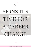 6 signs its time to make a career change
