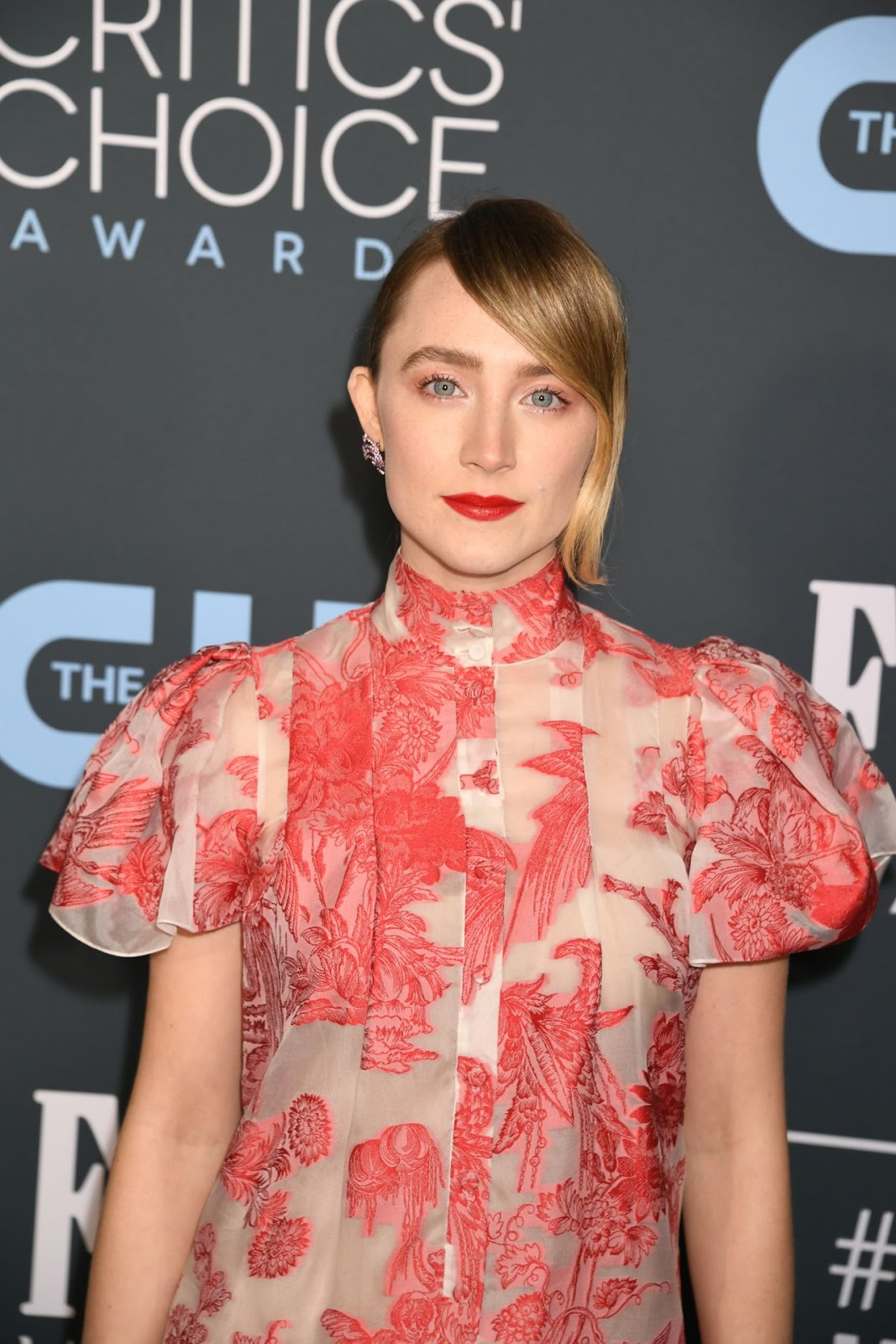 Saoirse Ronan's Critics' Choice Awards Look Is The Antithesis Of Her Sexy Golden Globes Gown