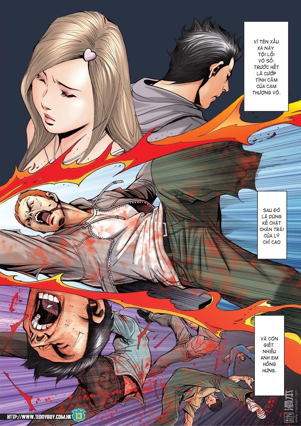 Người Trong Giang Hồ chapter 2038: thanh toán trang 12
