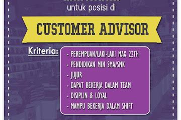 Lowongan Kerja Customer Advisor Toko Buku Toga Mas Bandung