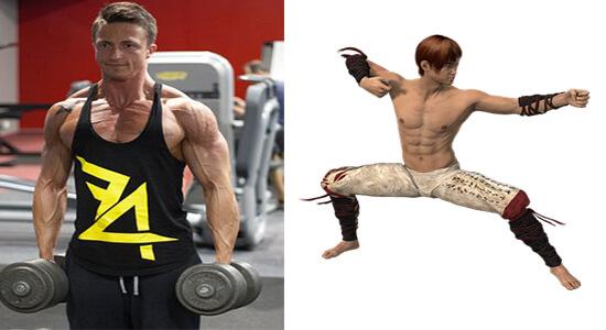 دور الرياضة الشديدة في تقوية عضلات الجسم