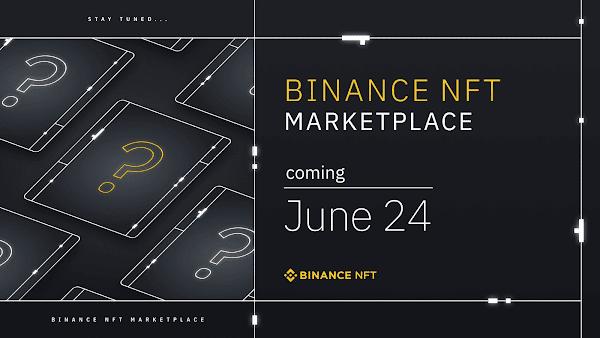 Binance confirma data de lançamento e os primeiros criadores do seu mercado de NFTs