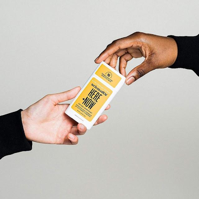 Schmidt's Here + Now Sensitive Skin Deodorant