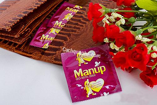 Bao cao su Manup Prolong nhỏ gọn mang theo người