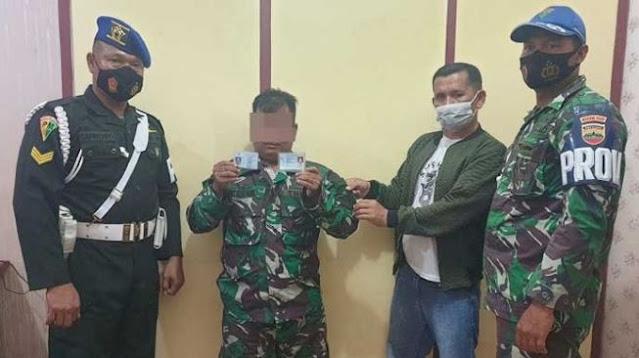Tentara Gadungan Ditangkap Anggota TNI di Riau, Curiganya Gara-gara Ini