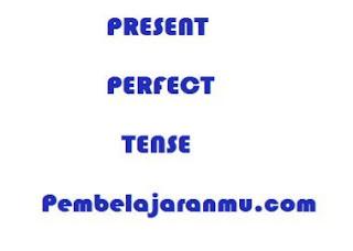 Present Perfect Tense (Penggunaan, keterangan waktu dan susunan kalimatnya dalam tenses)