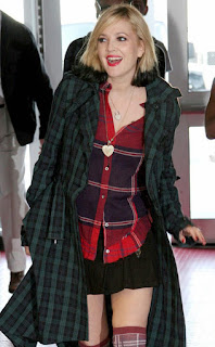 skirts for apple shape, drew barrymore in skirt, How to choose Skirt For different Body Shape ?