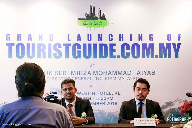 Sidang Akhbar touristguide.com.my