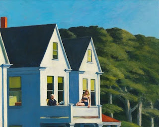 Edward Hopper - Secondo piano al sole (1960)