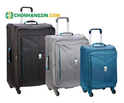 vali kéo bằng vải