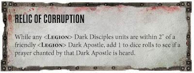 Reglas especiales Apóstol Oscuro