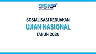 Download Juknis POS Ujian Nasional Tahun 2020 Jenjang SMA/MA/SMK